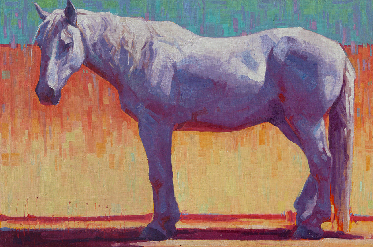 Equine Paintings - Whitney Michelle Hall Fine Art